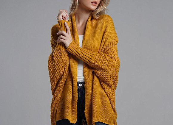 Oversized Sweater Cardigan