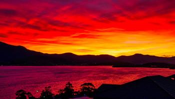 Sunset at Oceana B&B