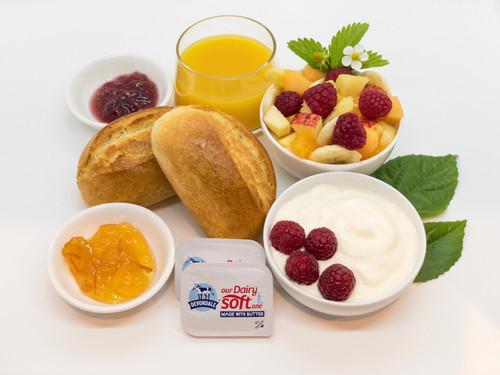 Continental Breakfast at Oceana B&B
