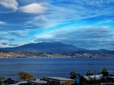 Mount Wellington from Oceana B&B