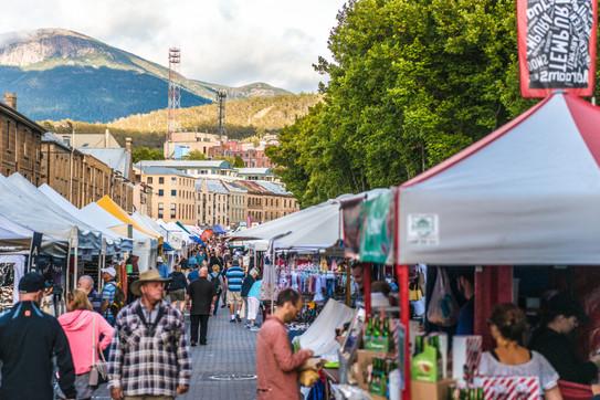 Hobart's Salamanca Market