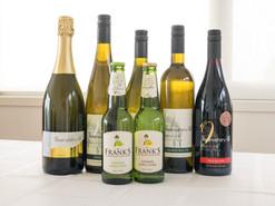 Premium wines at Oceana B&B