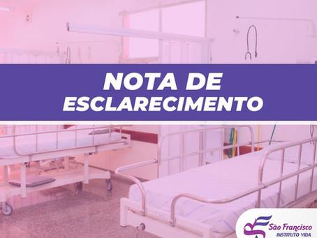 Hospital São Francisco fecha Pronto Socorro para casos respiratórios neste sábado