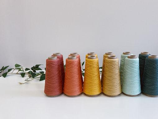 Coates & Co. Fiber Weaving Yarn