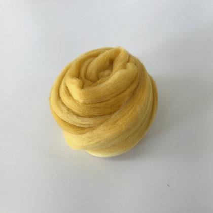 GOLDENROD - 2 oz. of Hand-dyed Merino Roving for Weaving, Spinning, or Felting