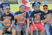 Bro. Jappy, R, Wilz and Rome