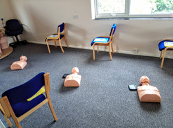 space for CPR training