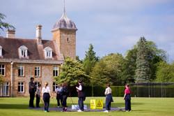 team building school grounds