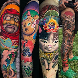 ORIENTAL TATTOOS-Luis Castillo