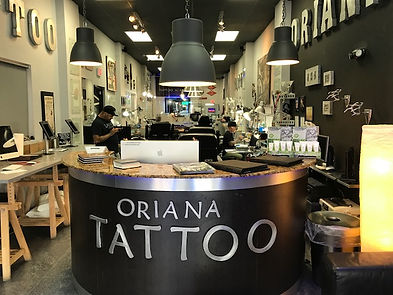 ORIANA TATTOO MIAMI BEACH