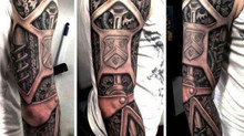 Amazing Biomechanical Tattoos
