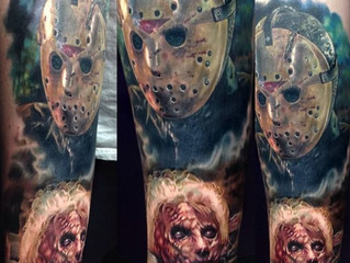 Creepy Horror Tattoos!