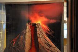 maquette de volcan