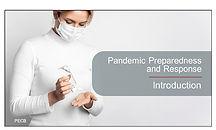 Pandemic Preparedness and Response (Intr