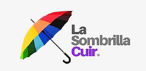 Logo Podcast Sombrilla Cuir