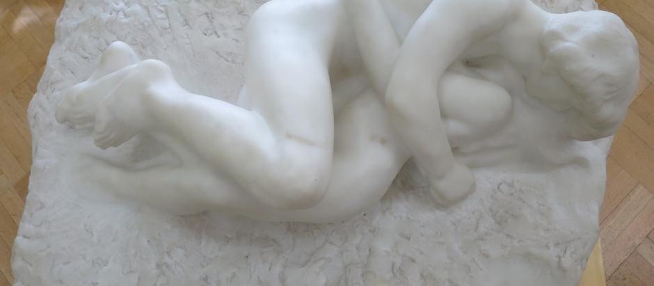 Амур и Психея, Огюст Роден