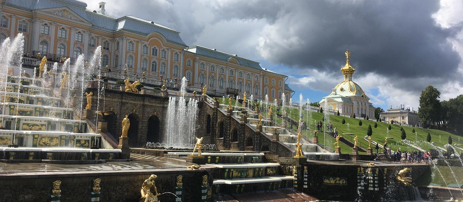 Поездка в Петергоф