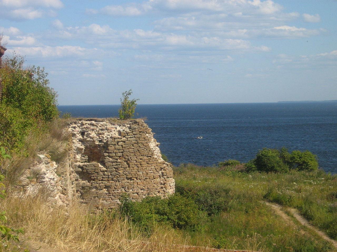 Вид на Ладожское озеро