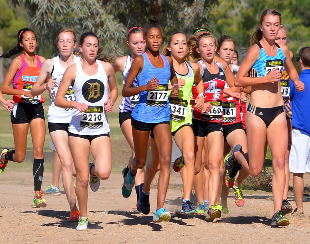 Katie Rainsberger lead the Nike NXR Regionals