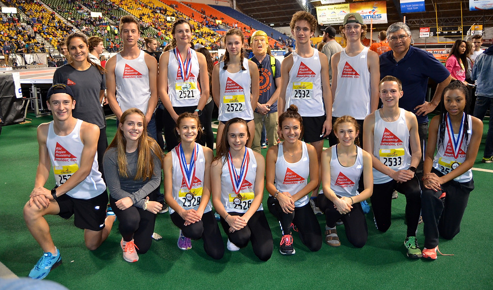 Team Rojas at the 2017 Simplot Games at Idaho State University in Pocatello, ID