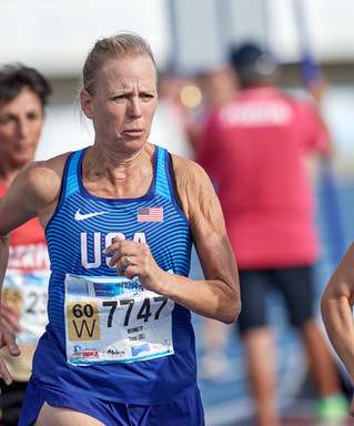 Tracey Bernett Earns World #1 Ranking in the 60-64 AG Mile