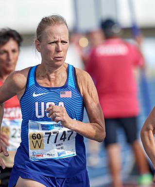 Tracey Bernett Earns World #1 Ranking in the 60-64 AG Mile