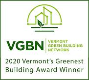 VGBN 2020 Greenest Building Award Winner