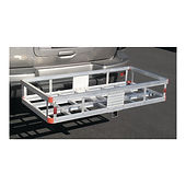 hitch cargo rack - happy campers rv rental