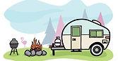 happy campers rv rentals logo