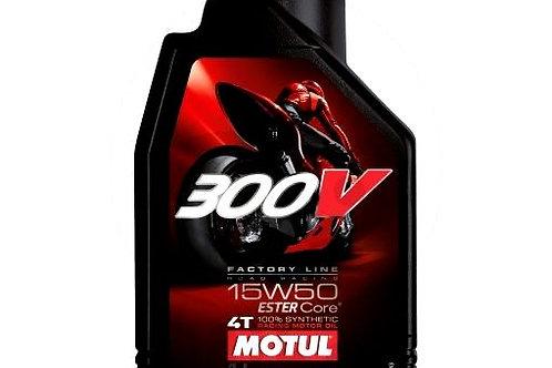 OLIO 15W50 4T 1L MOTUL 300V SINTETICO ROAD RACING