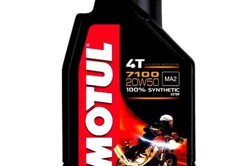 OLIO 20W50 4T 1L MOTUL 7100 SINTETICO