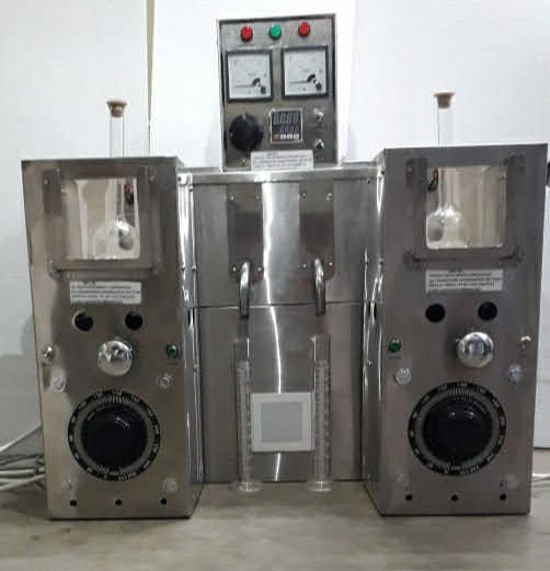 DUAL DISTILATION WITH COOLING
