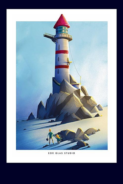 Balade au pied du phare