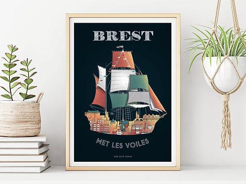 Brest met les voiles