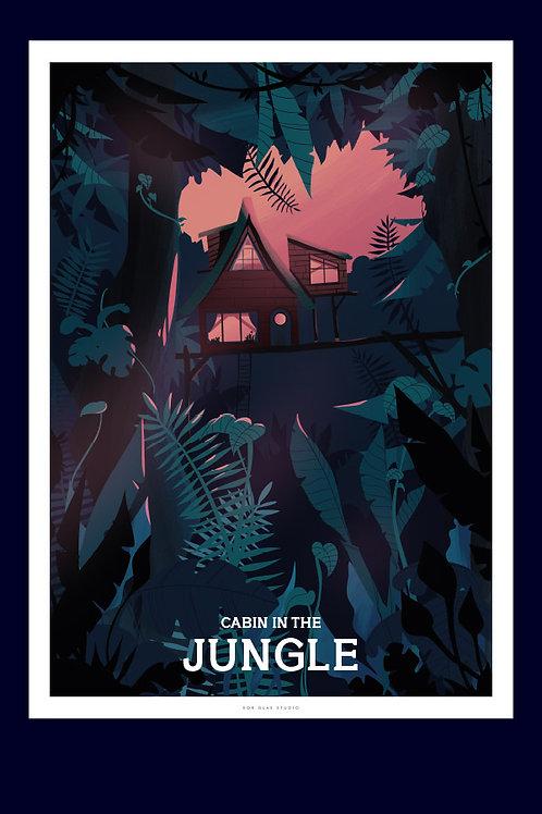 Cabin in the jungle