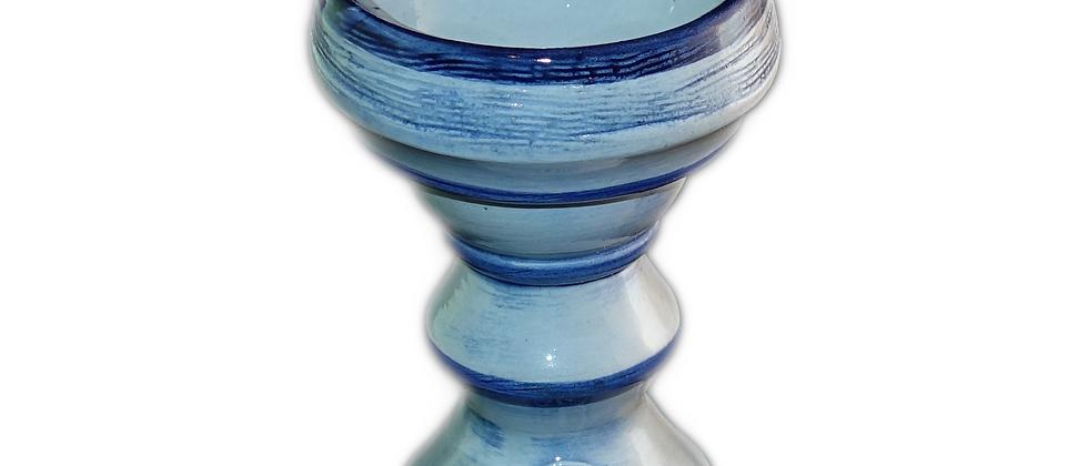 VULCANO Keramik Kopf - blau