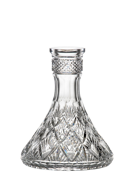 Noble Dust Caesar Crystal Cone Ananas Clear Bowl