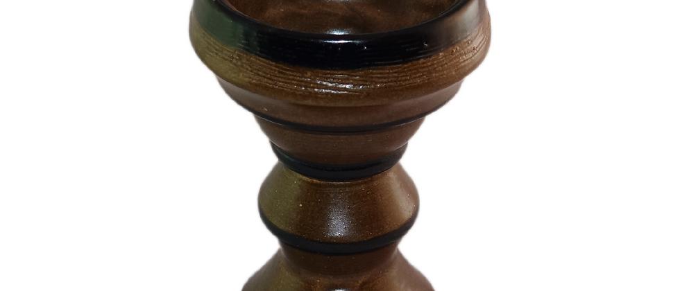 VULCANO Keramik Kopf - braun