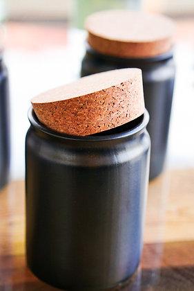 Tabakdose Keramik Black