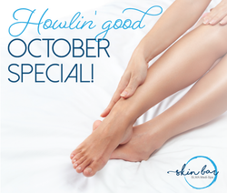 Don't be scary hairy this Halloween! 🐺 This month only, tame your mane with a laser hair removal pa