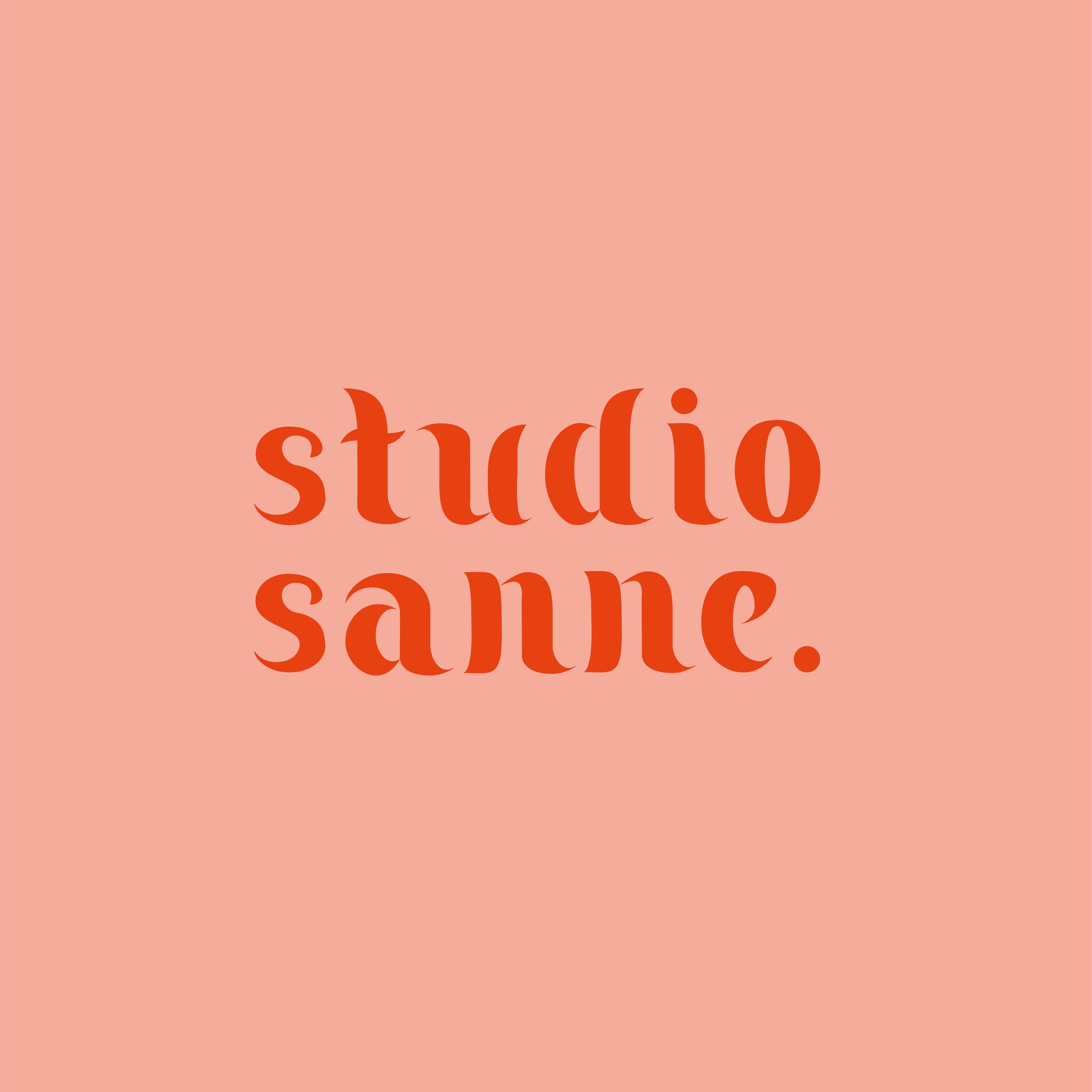 Font - studio sanne