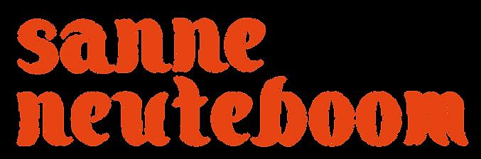 Sanne Neuteboom grafisch ontwerp I logo
