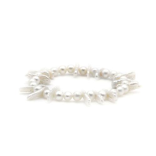 Biwa 淡水珍珠手鏈