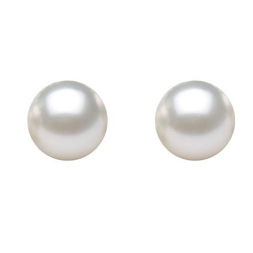 5-6mm 純銀淡水珍珠耳環