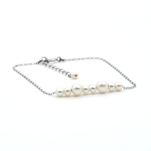 Lynn Bracelet 淡水珍珠純銀手鏈