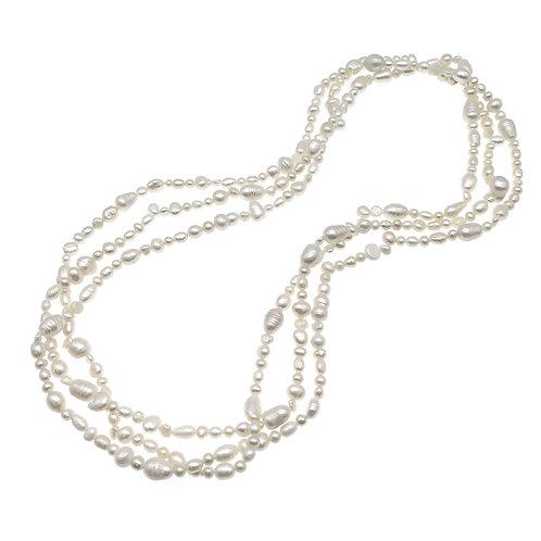 72英寸淡水珍珠長鏈