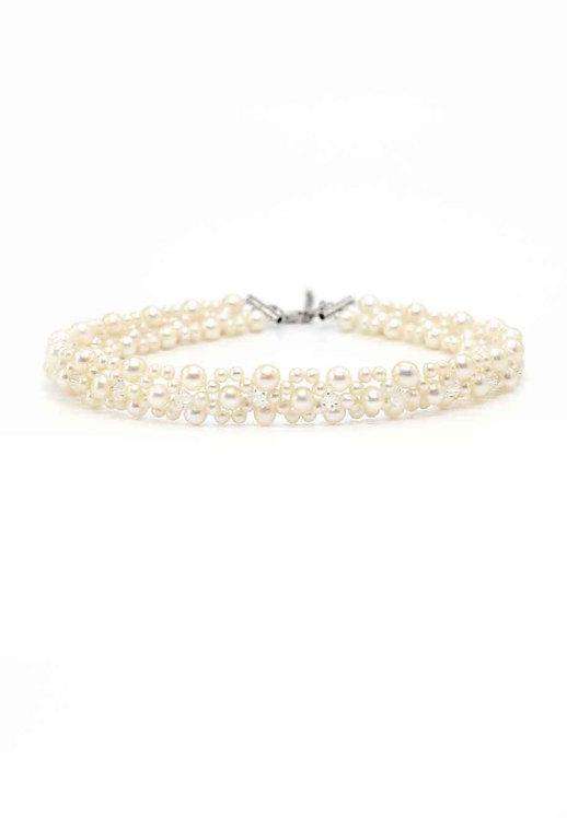 Spring 淡水珍珠織鏈