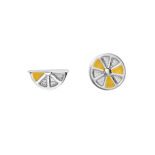 Lemon-925 純銀耳環
