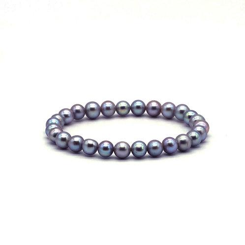 黑色淡水珍珠手鏈