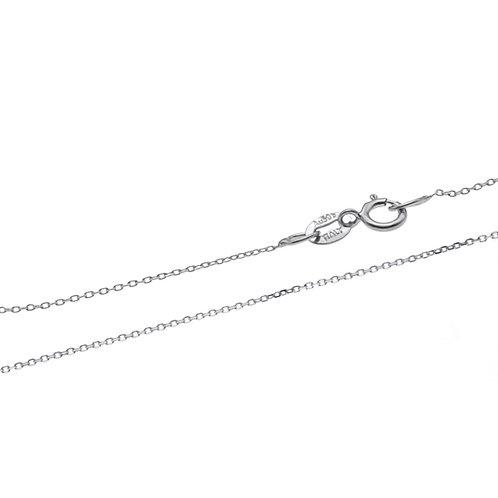 Kaleidoscope- 18K/750 白金配淡水珍珠吊墜連頸鏈